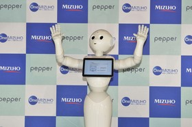 株式会社みずほ銀行様のPepperアプリがリリースされました。