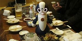 2016年12月12日(月)より、くろきん神田本店にて「飲みニケーションロボット席」予約開始
