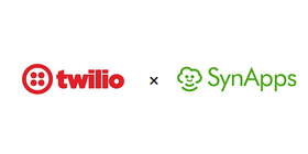 クラウドロボティクスサービス「SynApps(シナップス)」がクラウド電話API「Twilio」との連携を開始しました。