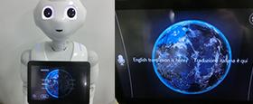 AI活用でコミュニケーションロボットが45ケ国語で翻訳・接客を可能にする 『Robot(ロボット)Translator(トランスレーター)』の販売を開始致しました。