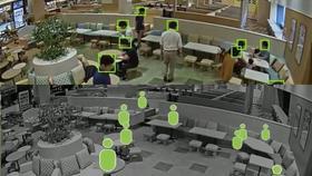 エッジAIカメラで来店客のプライバシー領域を自動マスキング。視覚的にわかる空席&混雑状況見える化ソリューション「comieru Live」の実証実験を実施。